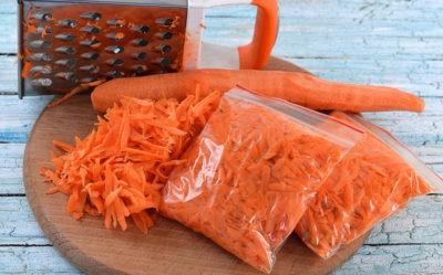 Как заморозить морковь и свеклу на зиму