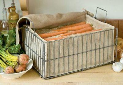Как сохранить морковь в подвале до весны