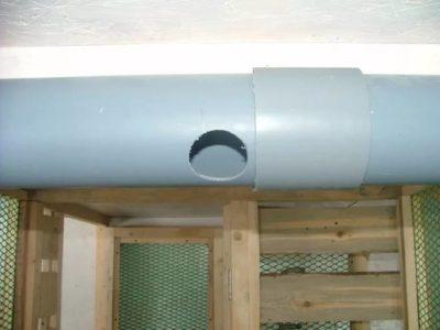 Вентиляция в курятнике: как сделать правильно вытяжку (схема)